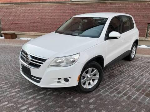 2010 Volkswagen Tiguan for sale at Euroasian Auto Inc in Wichita KS