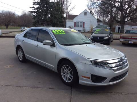 2012 Ford Fusion for sale at Harrison Family Motors in Topeka KS