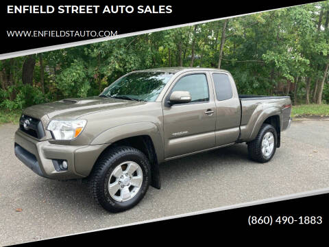 2015 Toyota Tacoma for sale at ENFIELD STREET AUTO SALES in Enfield CT