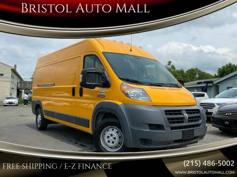 2015 RAM ProMaster Cargo for sale at Bristol Auto Mall in Levittown PA