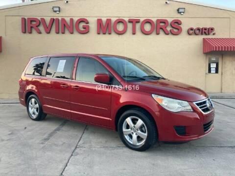 2010 Volkswagen Routan for sale at Irving Motors Corp in San Antonio TX