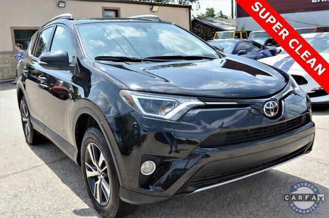 2017 Toyota RAV4 for sale at LAKESIDE MOTORS, INC. in Sachse TX