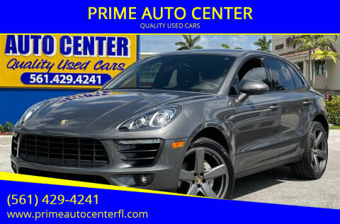 2015 Porsche Macan for sale at PRIME AUTO CENTER in Palm Springs FL