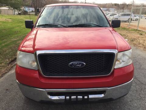 2007 Ford F-150 for sale at Speed Auto Mall in Greensboro NC