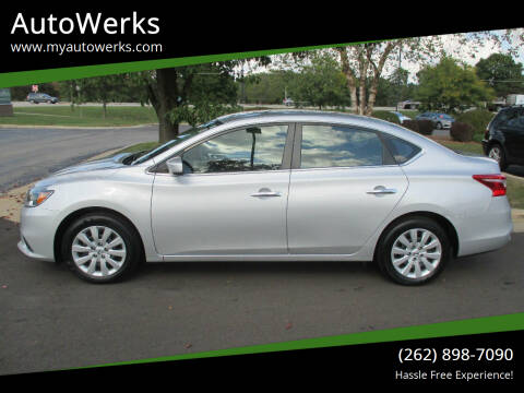 2019 Nissan Sentra for sale at AutoWerks in Sturtevant WI
