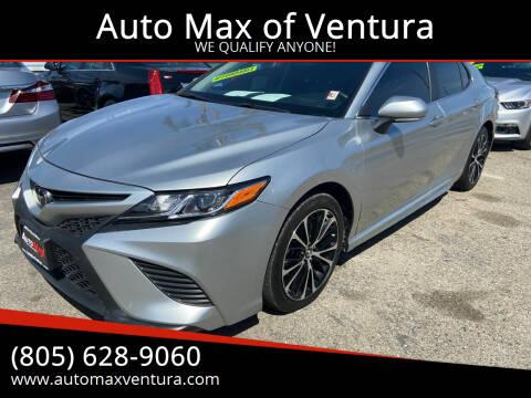 2018 Toyota Camry for sale at Auto Max of Ventura in Ventura CA