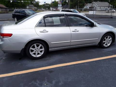 2003 Honda Accord for sale at A-1 Auto Sales in Anderson SC