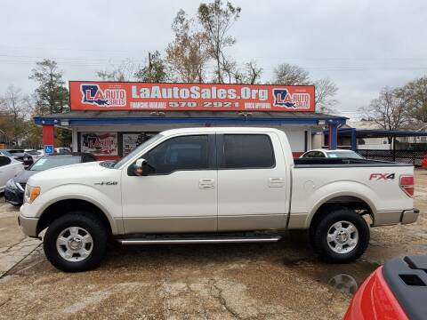 2009 Ford F-150 for sale at LA Auto Sales in Monroe LA