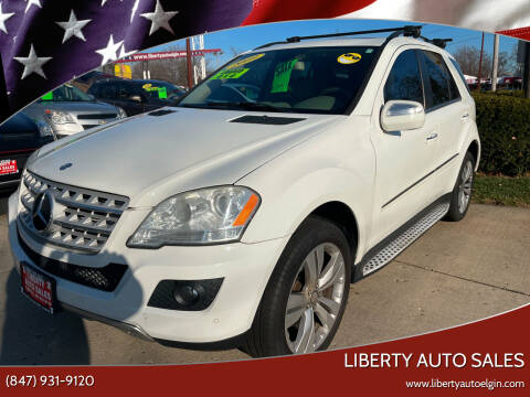 2009 Mercedes-Benz M-Class for sale at Liberty Auto Sales in Elgin IL
