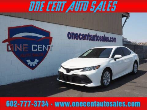 2019 Toyota Camry for sale at One Cent Auto Sales in Glendale AZ