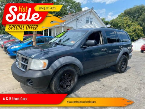 2007 Dodge Durango for sale at A & R Used Cars in Clayton NJ