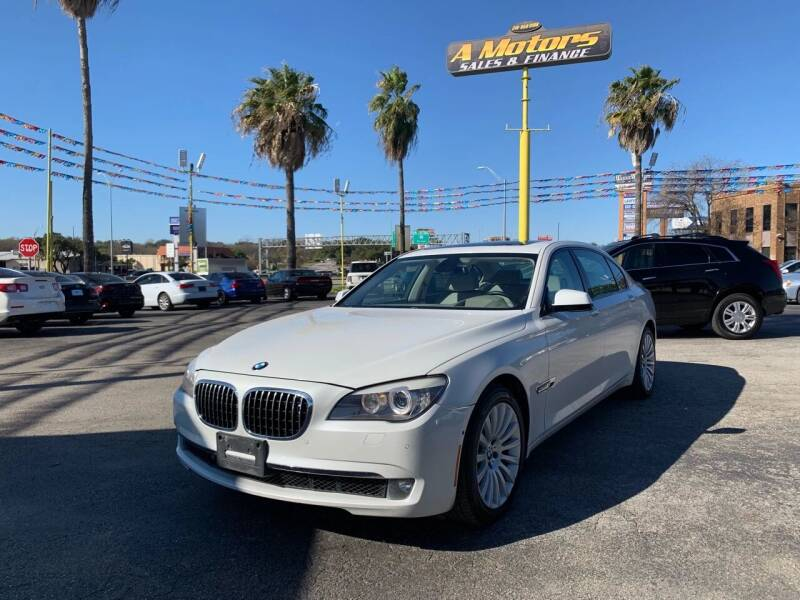 2010 BMW 7 Series for sale at A MOTORS SALES AND FINANCE in San Antonio TX