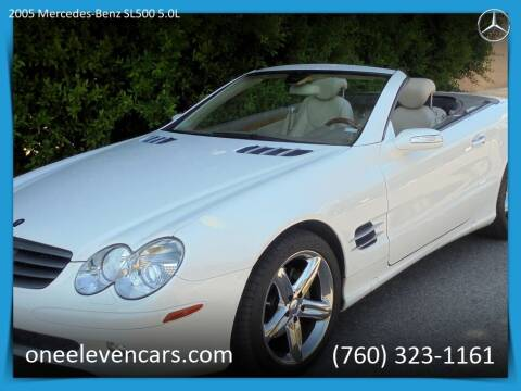 2005 Mercedes-Benz SL-Class for sale at One Eleven Vintage Cars in Palm Springs CA