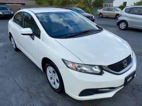 2015 Honda Civic for sale at Clintonville Motors in Columbus OH