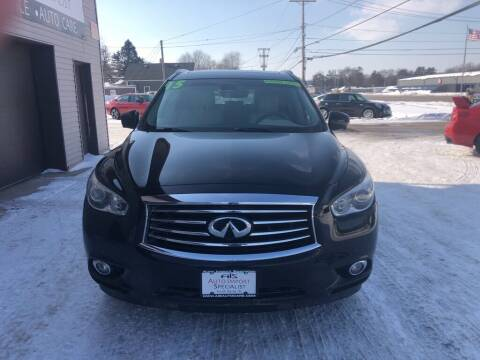 2015 Infiniti QX60 for sale at Auto Import Specialist LLC in South Bend IN