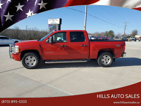 2010 Chevrolet Silverado 1500 for sale at Hills Auto Sales in Salem AR