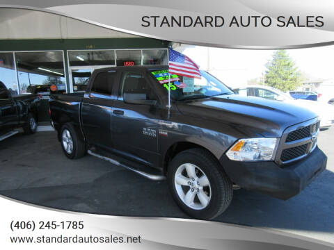 2015 RAM Ram Pickup 1500 for sale at Standard Auto Sales in Billings MT