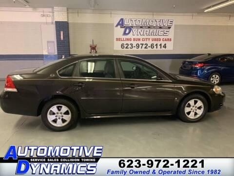 2009 Chevrolet Impala for sale at Automotive Dynamics in Sun City AZ