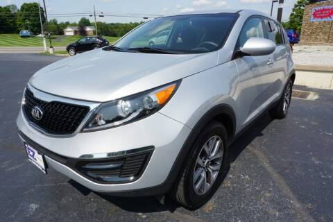 2016 Kia Sportage for sale at MyEzAutoBroker.com in Mount Vernon OH