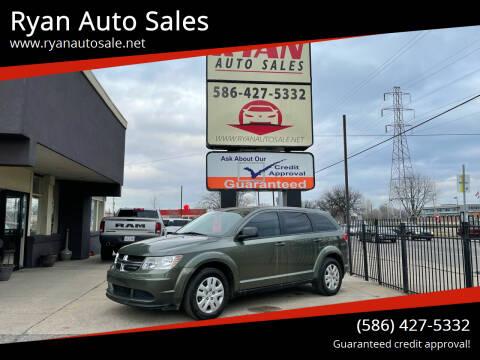 2016 Dodge Journey for sale at Ryan Auto Sales in Warren MI