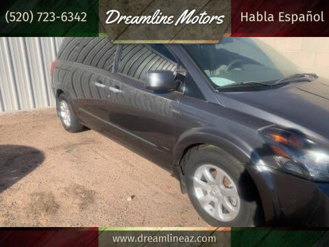 2009 Nissan Quest for sale at Dreamline Motors in Coolidge AZ