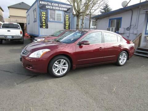2011 Nissan Altima for sale at ARISTA CAR COMPANY LLC in Portland OR