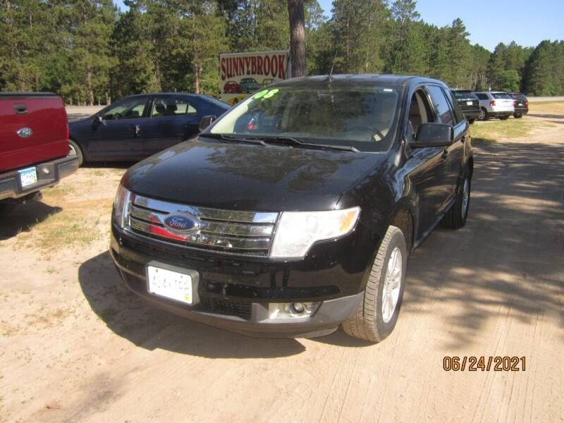 2008 Ford Edge for sale at SUNNYBROOK USED CARS in Menahga MN