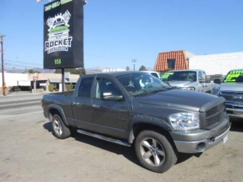 2008 Dodge Ram Pickup 1500 for sale at Rocket Car sales in Covina CA