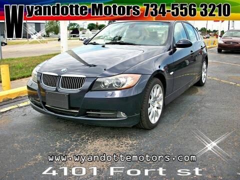 2006 BMW 3 Series for sale at Wyandotte Motors in Wyandotte MI