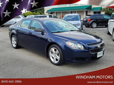 2011 Chevrolet Malibu for sale at Windham Motors in Florence SC