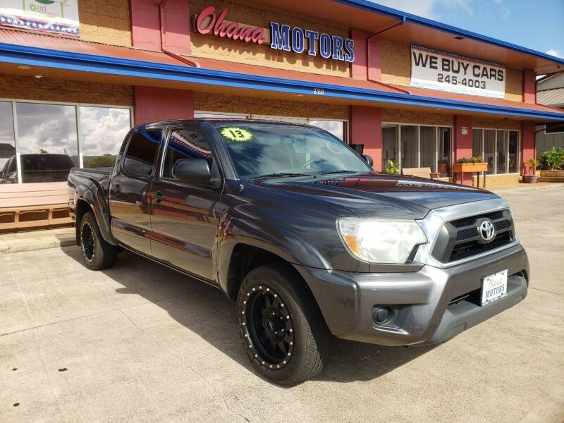2013 Toyota Tacoma for sale at Ohana Motors in Lihue HI