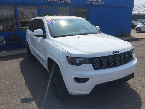 2018 Jeep Grand Cherokee for sale at M-97 Auto Dealer in Roseville MI