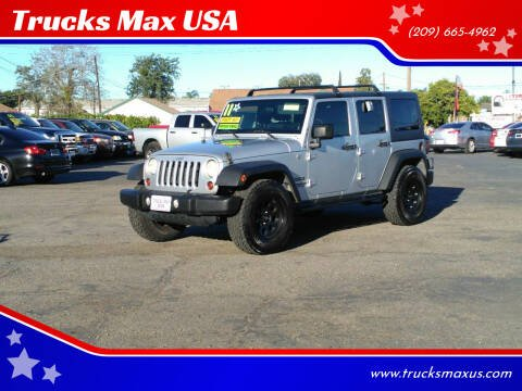 2011 Jeep Wrangler Unlimited for sale at Trucks Max USA in Manteca CA