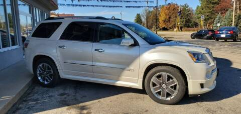 2011 GMC Acadia for sale at Extreme Auto Sales LLC. in Wautoma WI