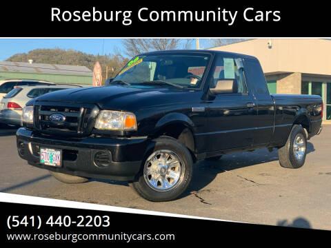 2008 Ford Ranger for sale at Roseburg Community Cars in Roseburg OR
