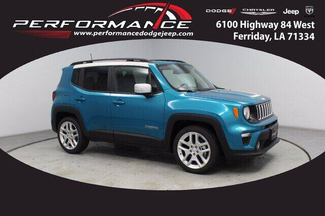 2021 Jeep Renegade for sale at Performance Dodge Chrysler Jeep in Ferriday LA