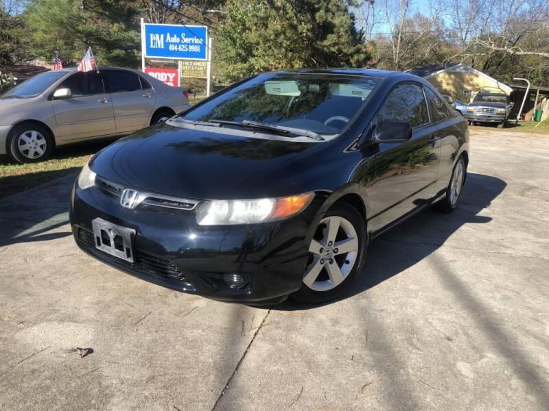2008 Honda Civic for sale at L & M Auto Broker in Stone Mountain GA
