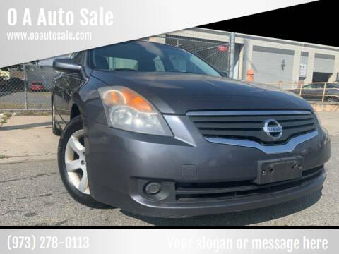 2008 Nissan Altima for sale at O A Auto Sale - O & A Auto Sale in Paterson NJ