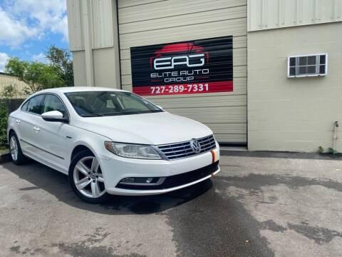 2013 Volkswagen CC for sale at Elite Auto Group LLC in Pinellas Park FL
