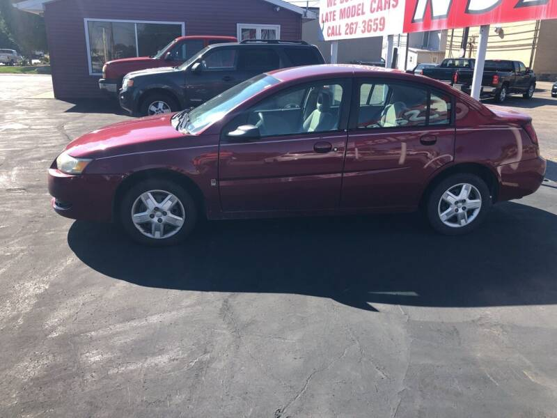 2006 Saturn Ion for sale at N & J Auto Sales in Warsaw IN