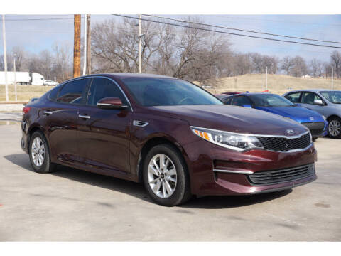 2018 Kia Optima for sale at Sand Springs Auto Source in Sand Springs OK