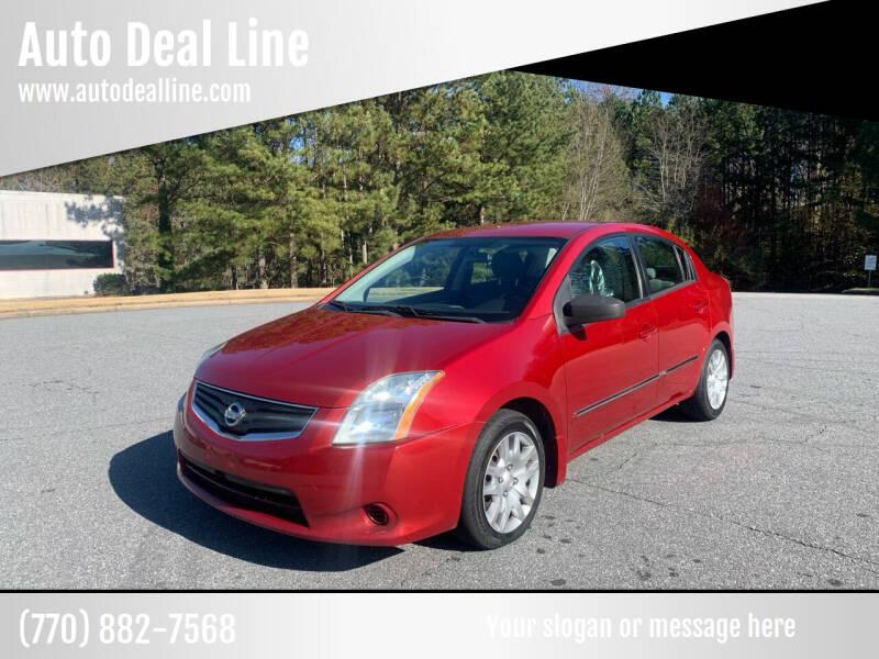 2010 Nissan Sentra for sale at Auto Deal Line in Alpharetta GA