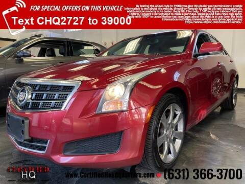 2013 Cadillac ATS for sale at CERTIFIED HEADQUARTERS in St James NY
