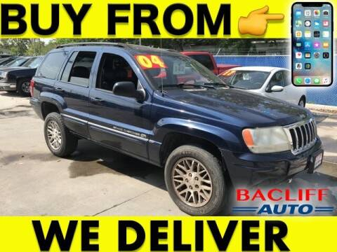 2004 Jeep Grand Cherokee for sale at Bacliff Auto in Bacliff TX