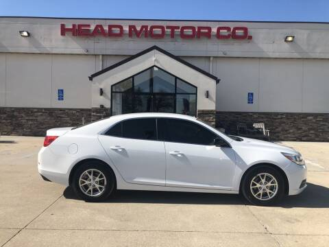 2013 Chevrolet Malibu for sale at Head Motor Company - Head Indian Motorcycle in Columbia MO