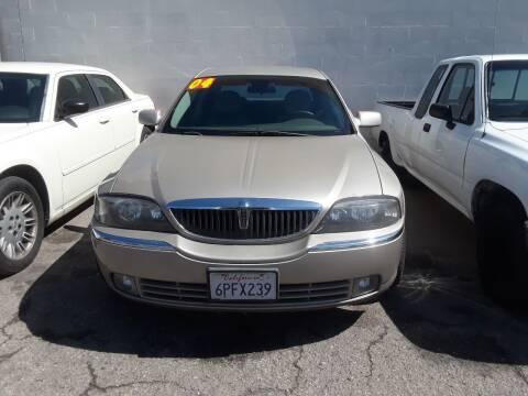 2004 Lincoln LS for sale at Goleta Motors in Goleta CA