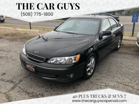 2001 Lexus ES 300 for sale at The Car Guys in Hyannis MA