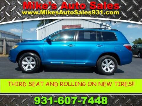 2009 Toyota Highlander for sale at Mike's Auto Sales in Shelbyville TN