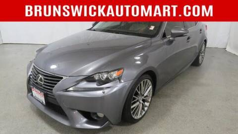 2014 Lexus IS 250 for sale at Brunswick Auto Mart in Brunswick OH