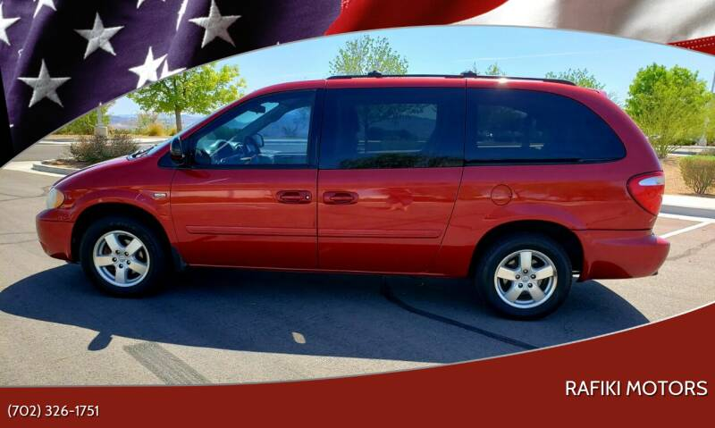2007 Dodge Grand Caravan for sale at RAFIKI MOTORS in Henderson NV